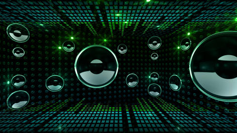 Disco Space 3 RArD3B HD Animation