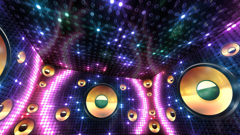 Disco Space 3 RBrC1B HD Animation