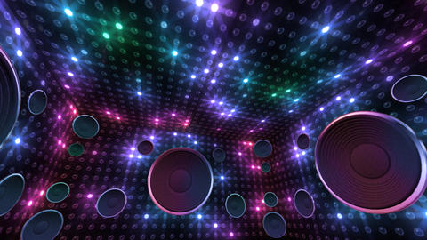 Disco Space 3 RBrD2B HD Animation