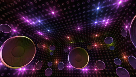 Disco Space 3 RBrD2B HD Stock Video Footage