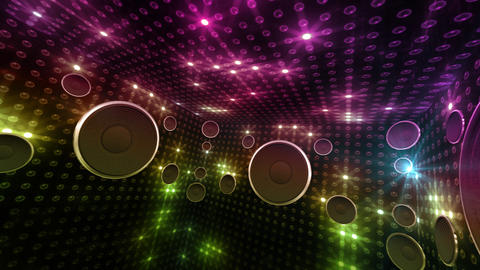 Disco Space 3 RCrD2B HD Stock Video Footage