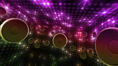 Disco Space 3 RCrD2B HD Animation