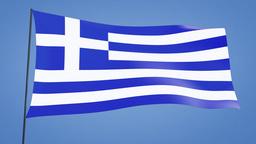 Greece flag Animation