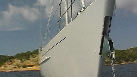 Sailing yacht Footage