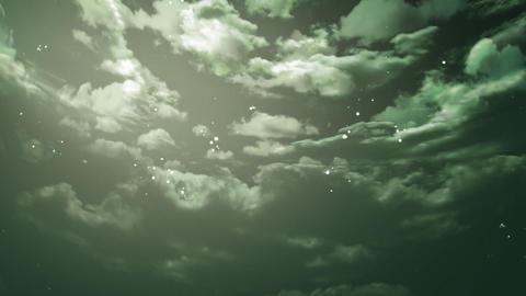 night sky zoom Animation
