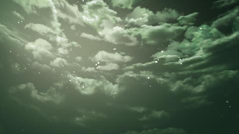night sky zoom Stock Video Footage
