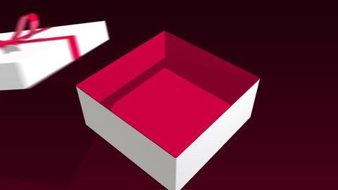 Present box CG動画