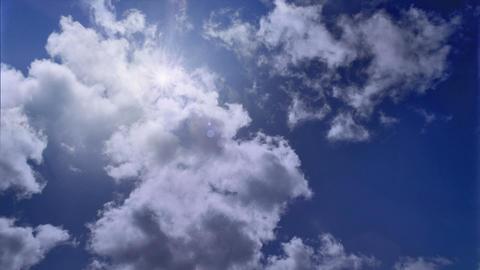 New Sky Timelapse stock footage