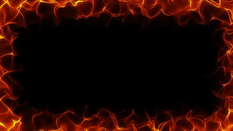 Fiery Frame HD stock footage