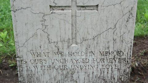 Militar cemetery 24 Footage