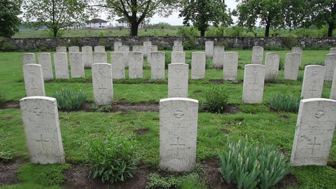 Militar cemetery 29 Footage