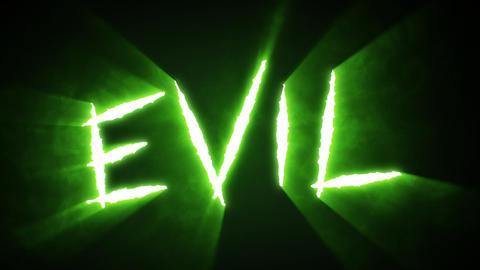 Claw Slashes Evil Green Animation