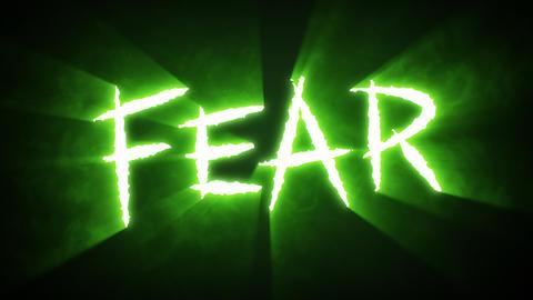 Claw Slashes Fear Green Animation