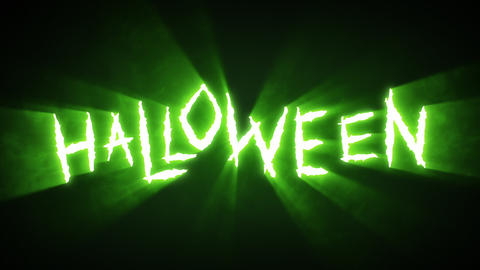 Claw Slashes Halloween Green Animation