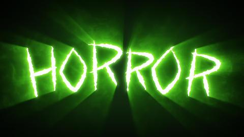 Claw Slashes Horror Green Animation