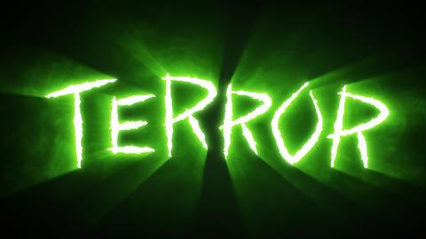 Claw Slashes Terror Green Animation