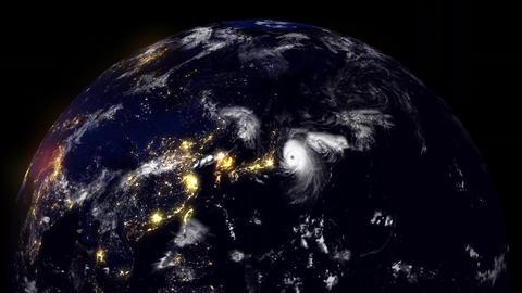 Hurricane Planet Japan Videos animados