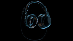 Rotating Headphones Loop Animation