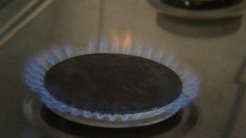 Gas Ring stock footage