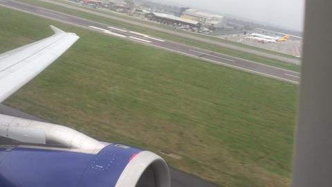 Aircraft takeoff Footage