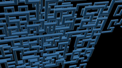 Hilbert Curve 3 D 5 Animation
