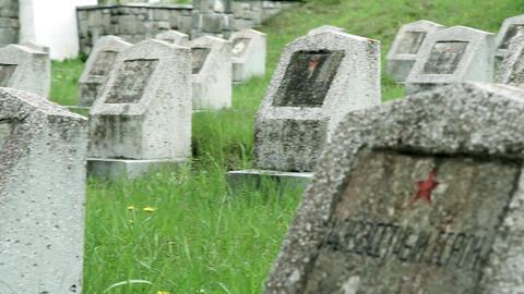 Militar cemetery 16 Footage