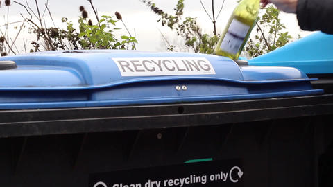 Glass recycling Live Action