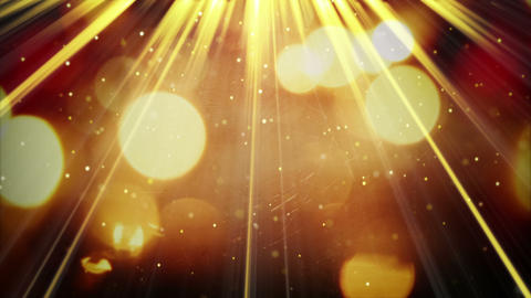 light rays and shimmering particles seamless loop 4k (4096x2304) Animation