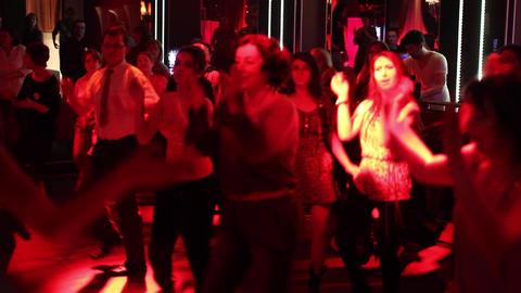 Disco club 02 Footage