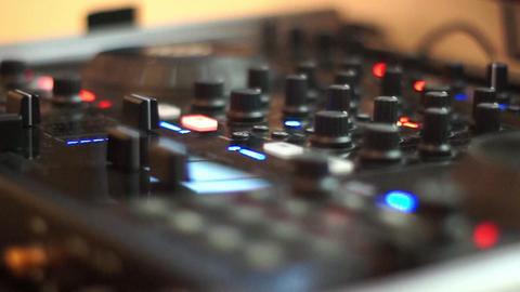 Dj equipment Footage