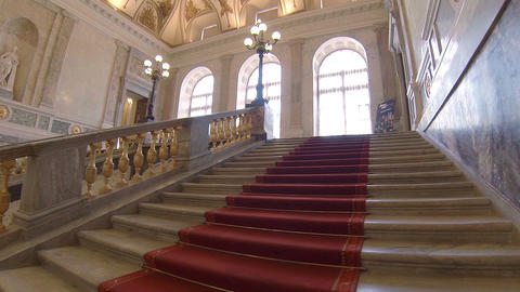 The main staircase in the Mikhailovsky Castle Live Action