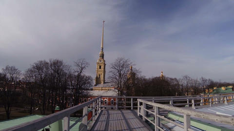 St.Peter and Paul Cathedral Footage