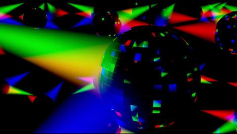 Disco Ballz 001 stock footage