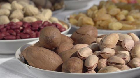 Nutritious Diet Vegetarian HD stock footage