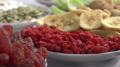 Vegetarian Food stock footage