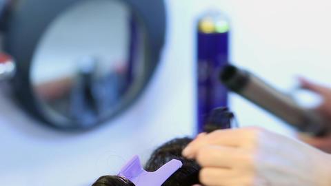 Hairdresser 01 Footage