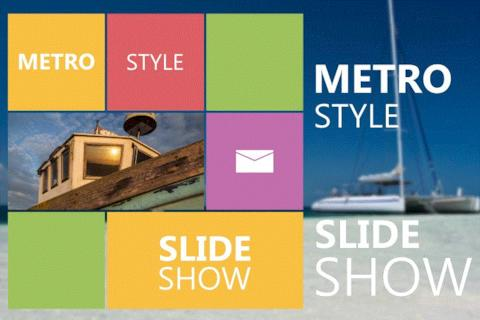 Metro Style Slideshow After Effects Template