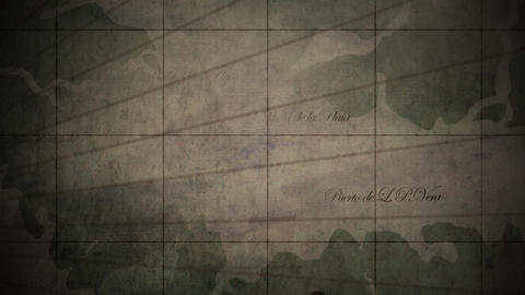 Medieval Map Background 1, Stock Animation