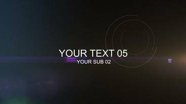 Dynamic Text Presentation After Effects Template