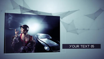 Digital Media Slideshow After Effects Template