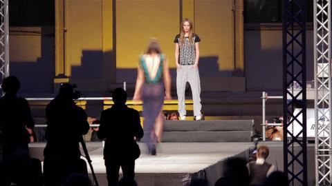 Fashion Parade 03 stock footage