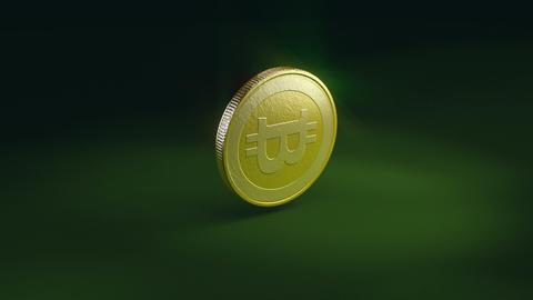 Bitcoin crash Animation