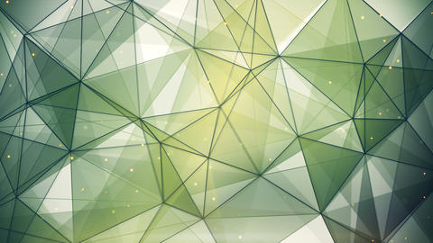 abstract geometric background triangles and lines loop 4k (4096x2304) Animation