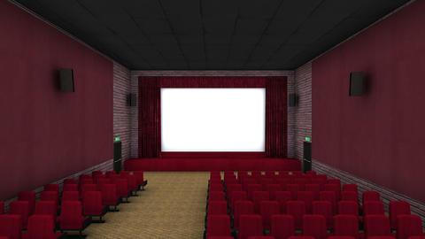 映画館 stock footage