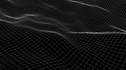 Wireframe in Motion Full HD Version 4 Animation