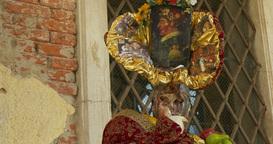 Venice mask 04 Footage