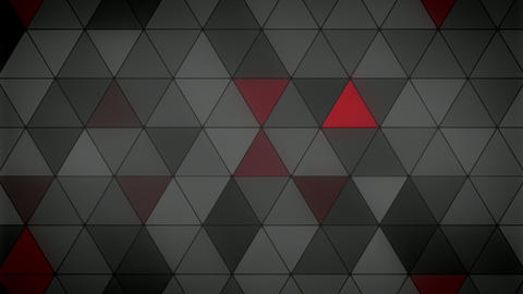 Triangle Polygon Loop 08 Masculine CG動画素材