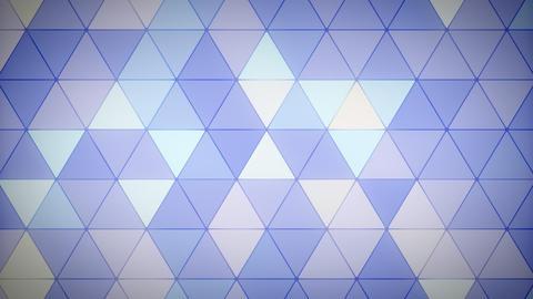 Triangle Polygon Loop 09 Lavender Animation