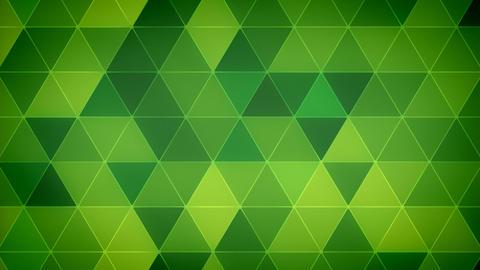 Triangle Polygon Loop 12 Emerald Animation
