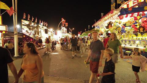 Amusement Park Timelapse Footage